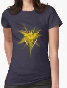Team Instinct Pride (Pokemon Go) Womens Fitted T-Shirt