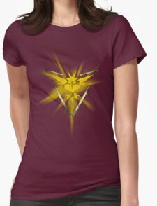 Team Instinct Pride (Pokemon Go) Womens Fitted T-Shirt