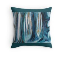 Cool Forest Throw Pillow