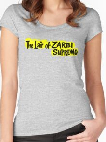 The Lair of Zarbi Supremo Women's Fitted Scoop T-Shirt