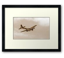 B-17 from ww2 Framed Print