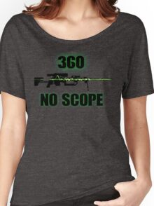 360 No Scope - Modern Warfare 2 Women's Relaxed Fit T-Shirt
