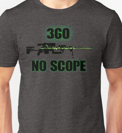 360 No Scope - Modern Warfare 2 Unisex T-Shirt