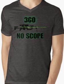 360 No Scope - Modern Warfare 2 Mens V-Neck T-Shirt