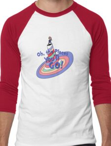 Oh, the Places You'll GO! Men's Baseball ¾ T-Shirt