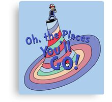 Oh, the Places You'll GO! Canvas Print