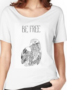 Be free Women's Relaxed Fit T-Shirt
