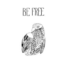 Be free Photographic Print