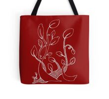 Spiral Plant Tote Bag