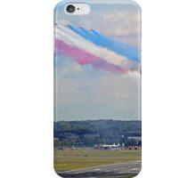 Red Arrows 10 Ship Open The Farnborough Airshow 2014 ! iPhone Case/Skin