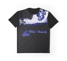 Hollow Immunity Stella Blue Graphic T-Shirt