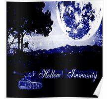 Hollow Immunity Stella Blue Poster
