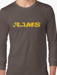 LOS ANGELES RAMS FOOTBALL RETRO Long Sleeve T-Shirt