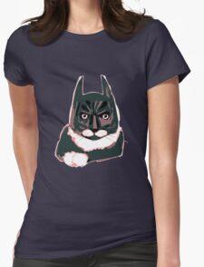 Cat - Batman Womens Fitted T-Shirt