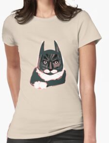 Cat - Batman Womens Fitted T-Shirt