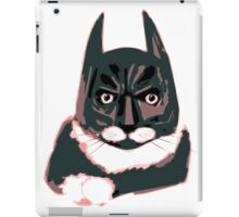 Cat - Batman iPad Case/Skin
