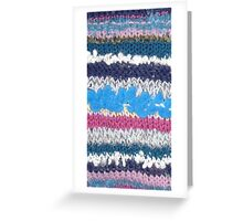 Knitted! Greeting Card