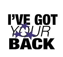 I've Got Your Back - Tshirts & Hoodies  Photographic Print