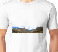 Panoramic Andes Mountains Unisex T-Shirt