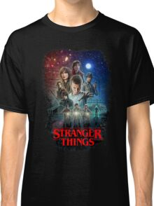 Stranger Things Black Classic T-Shirt