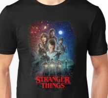 Stranger Things Black Unisex T-Shirt