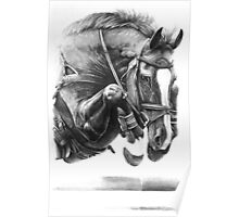Catching Air - Showjumping Horse Poster