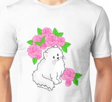 Rose Kitty Unisex T-Shirt