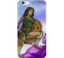 Blind Huntress iPhone Case/Skin