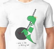i came in like a rex-ing ball Unisex T-Shirt