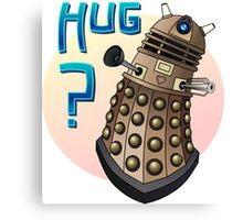 Dalek Love Canvas Print