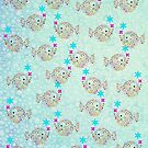 FISHIES 3 PATTERN by Tammera