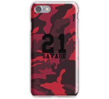 21 Savage Red Camo iPhone Case/Skin