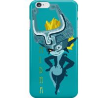 Midna: Teal iPhone Case/Skin