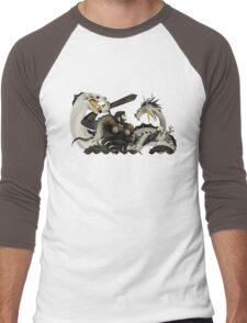 Beowulf Men's Baseball ¾ T-Shirt