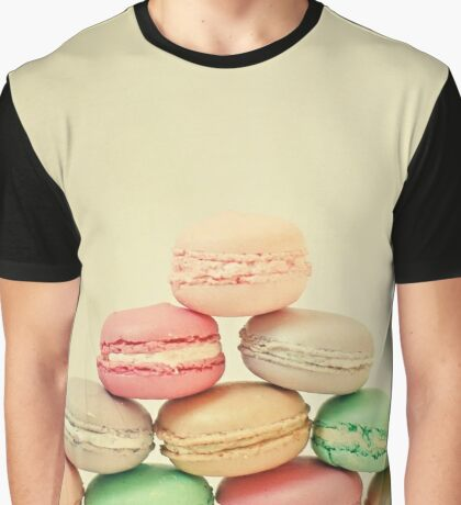 French Macarons Graphic T-Shirt