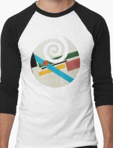 Plain Clone. Men's Baseball ¾ T-Shirt