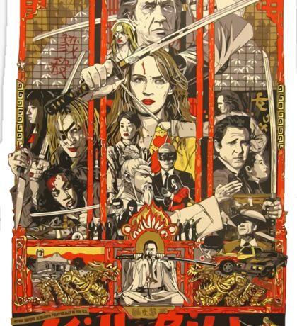 Kill Bill Bloody Bride Sticker