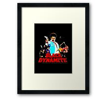 Black Dynamite Framed Print