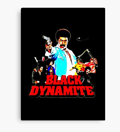Black Dynamite Canvas Print