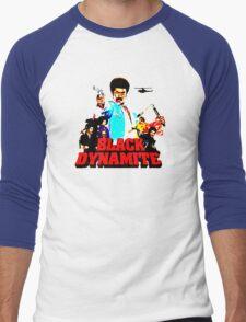 Black Dynamite Men's Baseball ¾ T-Shirt