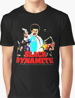 Black Dynamite Graphic T-Shirt