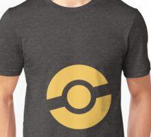 Pokeball (yellow) Unisex T-Shirt