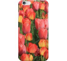 Flower-Bed Of Tulips iPhone Case/Skin
