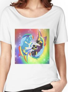 Wonder and Shadow of Rainbow Dash Women's Relaxed Fit T-Shirt