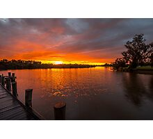 Sunrise on the Collie River Photographic Print