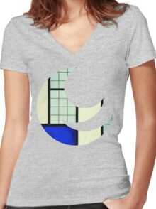 all nothing. Women's Fitted V-Neck T-Shirt