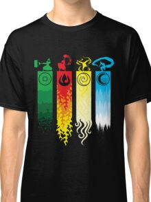 Avatar the Last Airbender - Four Element Kingdoms Classic T-Shirt