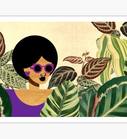 Bayou Girl IV Sticker