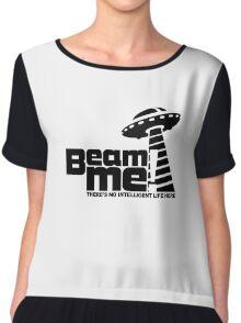 Beam me up V.3.2 (black) Chiffon Top