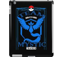 team mystic trainer 2016 iPad Case/Skin
